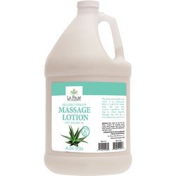 La Palm Products Triple Aloe Vera Healing Therapy Massage Lotion 1 Gallon (140069)