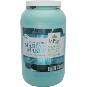 La Palm Products Spearmint Eucalyptus Therapy Detoxifying Marine Maske 1 Gallon (140076)