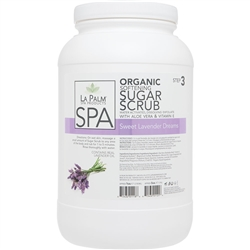 La Palm Products Sweet Lavender Dreams Softening Sugar Scrub 1 Gallon (140091)