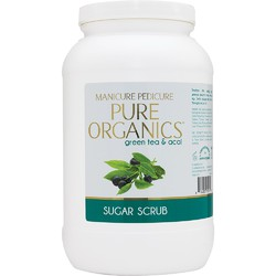 Pure Organics Green Tea & Acai Sugar Scrub 1 Gallon (140101)