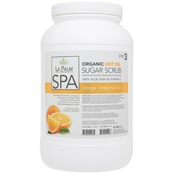 La Palm Products Orange Tangerine Zest Softening Sugar Scrub 1 Gallon (140126)