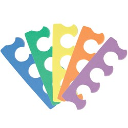 Toe Separator - Assorted Colors - Wrapped in Pairs 100 Pairs (140294)