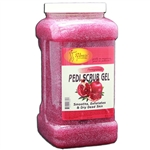 Pedi Scrub Gel Pomegranate 1 Gallon (140343)