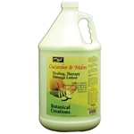 Healing Therapy Pedicure Massage Lotion - Cucumber 1 Gallon (140369)