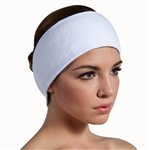 "Extra Wide Terry Headband with Velcro Closure 3"" Wide 10 Pack (140516)"