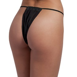 Disposable Bikini Panty - Black 50 Count (140518)