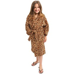 Little Diva Premium Leopard Fleece Spa Robe (140589)