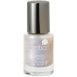 Caption Extended Wear Polish - Top Effects - Come To Mama - Iridescent Fine Blue Silver Shimmer Effect 0.34 oz. (160111)