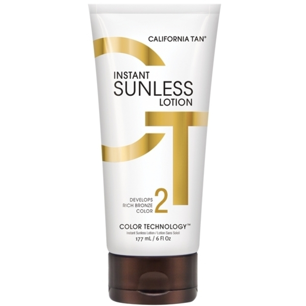 California Tan Sunless Collection Instant Sunless Lotion 6 oz. (201604)