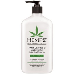 Herbal Body Moisturizer - Fresh Coconut & Watermelon 17 oz. (202434)