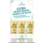 Hempz Ultra Moisturizing Herbal Lip Balm - Countertop Display 0.44 oz. ea. - 12 Count (205641)