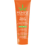 Hempz Yuzu & Starfruit Touch of Summer Moisturizing Gradual Self-Tanning Creme - Medium Skin Tones 200 mL. - 6.7 oz. (205667)