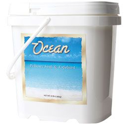 OCEAN Pedicure Soak and Exfoliant 136 oz.