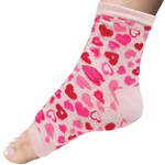 My Love - Hearts Pattern - Super Duper Pedi Socks 1 Pair (301369)