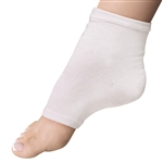 Super Duper Pedi Sock - White Cotton Blend - One Size Fits All 1 Pair (301376)
