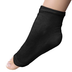 Super Duper Extra Long Pedi Socks - Black 1 Pair (301440)