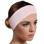 "Pink Disposable Headbands - Extra Long 2.25"" x 25.5"" - Velcro Closure 200 Count (301513)"