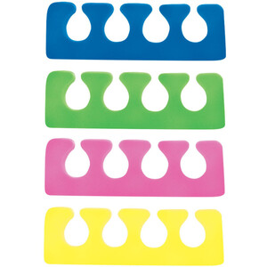 Value Toe Separators - Assorted Colors 1000 Pair (301518)