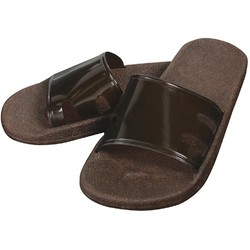Virgin PVC Spa Sandals - Espresso Brown Medium - 1 Pair (301740)