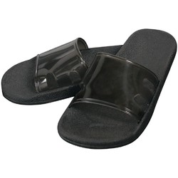 Virgin PVC Spa Sandals - Midnight Black Medium - 1 Pair (301744)