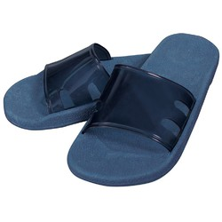 Virgin PVC Spa Sandals - Azure Blue Medium - 1 Pair (301746)