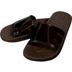 Virgin Soft Spa Sandal - Chocolate Large (301754)