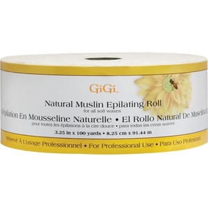 "GIGI Natural Muslin Roll 3.25"" x 100 yds."