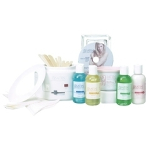 SATIN SMOOTH Single Warmer Wax Kit
