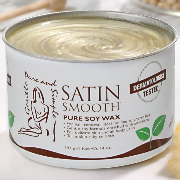 Satin Smooth Organic Soy Wax 14 oz. (302197)