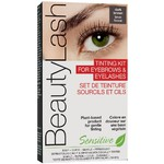 BeautyLash Sensitive Tinting Kit for Eyelashes & Eyebrows - Dark Brown Tint (302438)