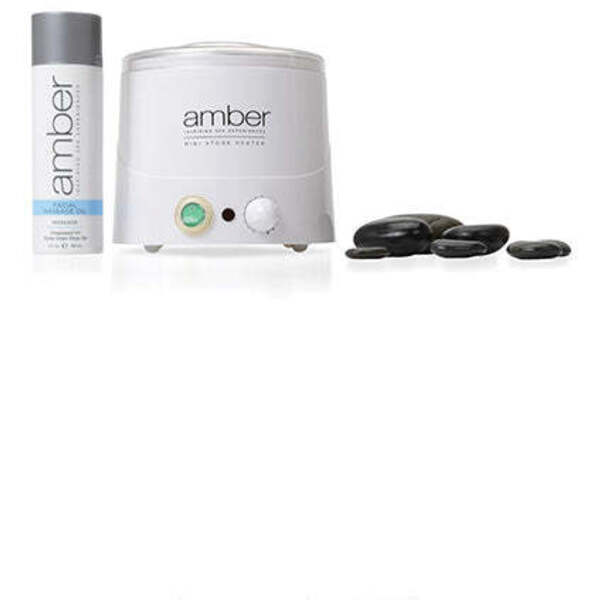 AMBER PRODUCTS Hot Stone Facial Kit