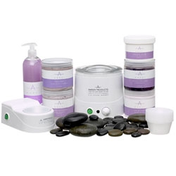 AMBER PRODUCTS Stone Pedicure Treatment Lavender A