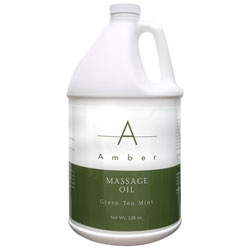 AMBER PRODUCTS Oil Green Tea Mint 1 Gallon