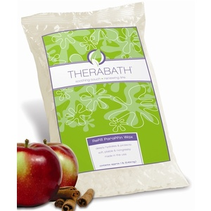 THERABATH Professional Grade Refill Paraffin Warm Apple Spice 6 Lbs. (303105)
