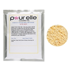POURELLE COSMETICS Exfoliating Papaya Peel Off Mas