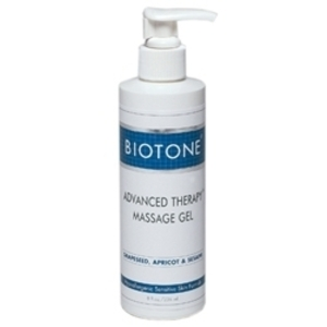 BIOTONE Advanced Therapy Massage Gel 8 oz. w Pu
