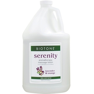 Aromatherapy Massage Lotion - Serenity Lavender + Orange + Clary Sage 1 Gallon (307136)