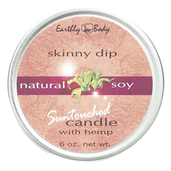 EARTHLY BODY Suntouched Skinny Dip Candle 6 oz.