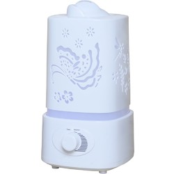 Cloud Nine LED Ultrasonic Essential Oil Diffuser - Generates Air Purifying Negative Ions! (308374)