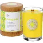 Invigorate - Pomelo Pine Scented Soy Candle Crackling Wooden Wick 6.5 oz. (308932)
