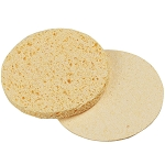 "FOR PRO 2.75"" Round Compressed Sponges Natural 100-Count (309425)"
