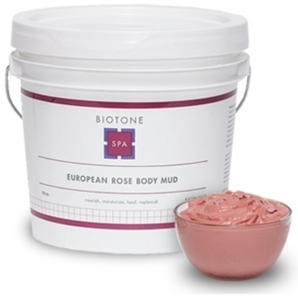 BIOTONE SPA European Rose Body Mud 10.2 Lbs.