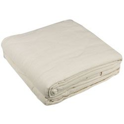 BODY LINEN Flannel Sheet Set Natural