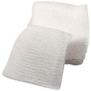 "INTRINSICS Cotton-Filled Gauze Sponges 2"" x 2"""