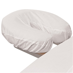 Poly-Cotton Face Cradle Cover - White 180 Thread Count (309654)