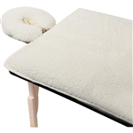 "Premium Fleece Pad Set Natural Color 32""W x 72""L. (309669)"