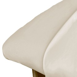 Premium Microfiber Fitted Sheet - Natural (309681)