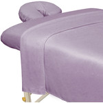 Premium Microfiber 3-Piece Massage Sheet Set - Lavender (309746)