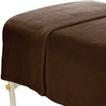 "MicroFiber Plush Blanket - 60"" x 90"" Chocolate (309825)"
