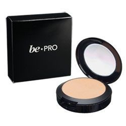 BE PRO Oil Controlling Pressed Powder Medium Dark